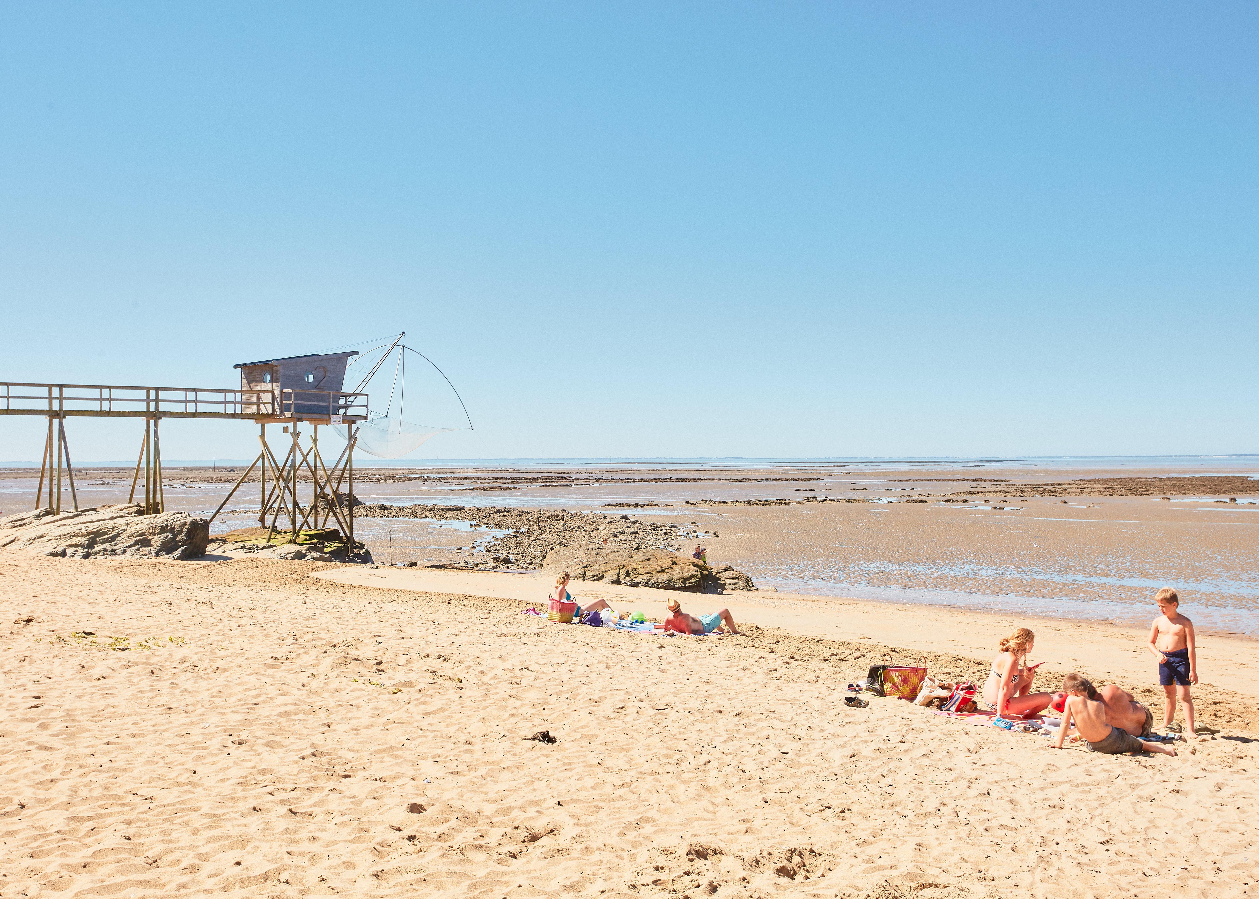 Plage Loire-Atlantique de Roche Marie, La Bernerie-en-Retz