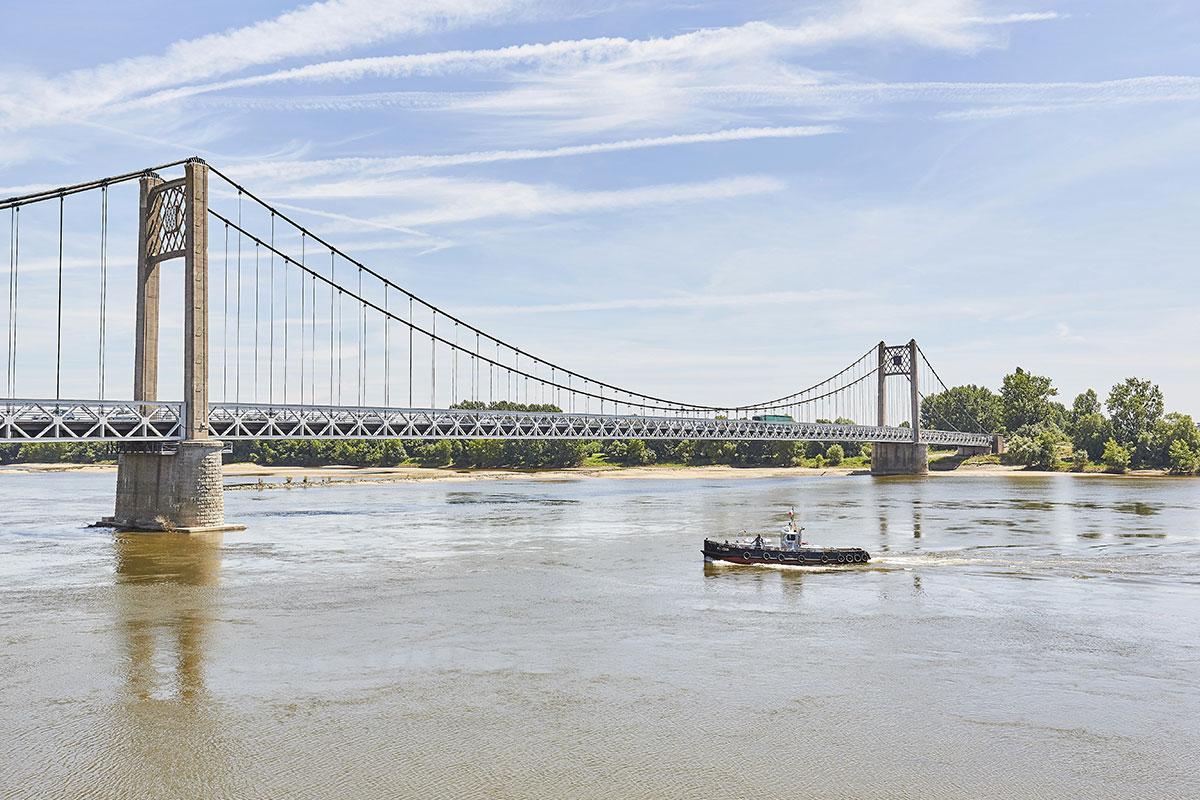 La Loire à Ancenis