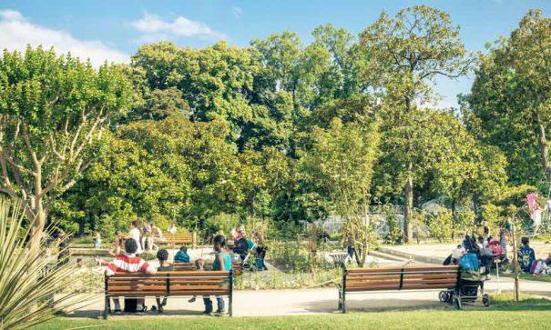 Le jardin des plantes de Nantes