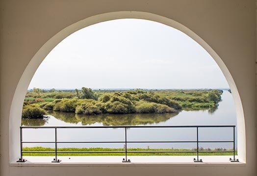 terrasse maison du lac de grand lieu