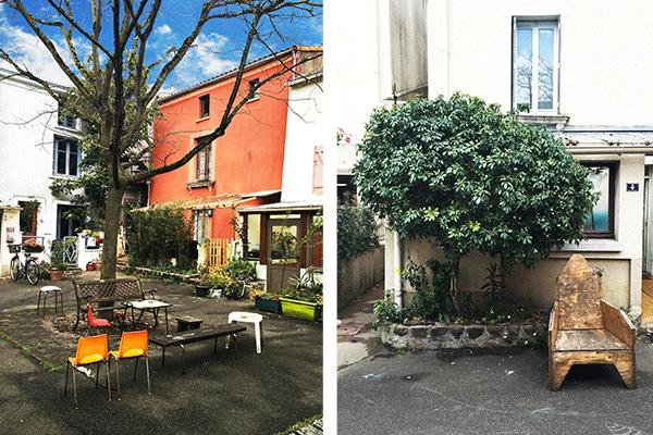 terrasse de cafés à Trentemoult