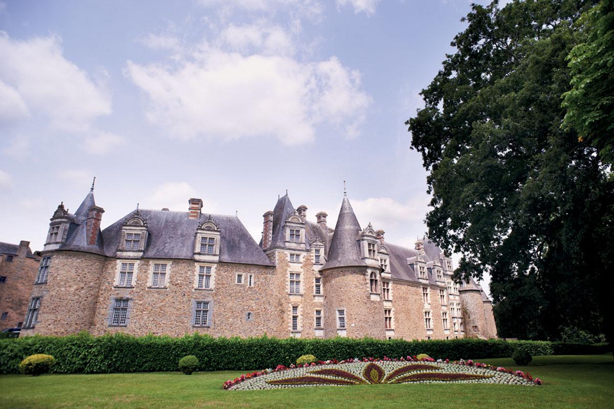 Extérieur du Château de Châteaubriant