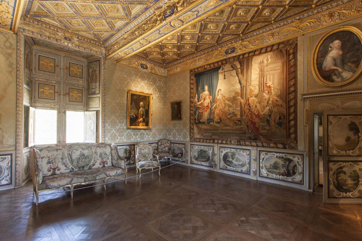 Intérieur du Château de Goulaine