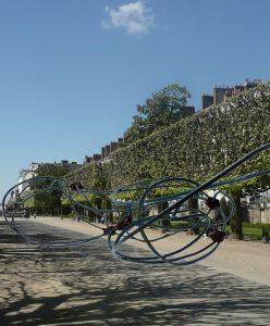 Sculpture Cours Cambronne - Le Voyage à Nantes 2016