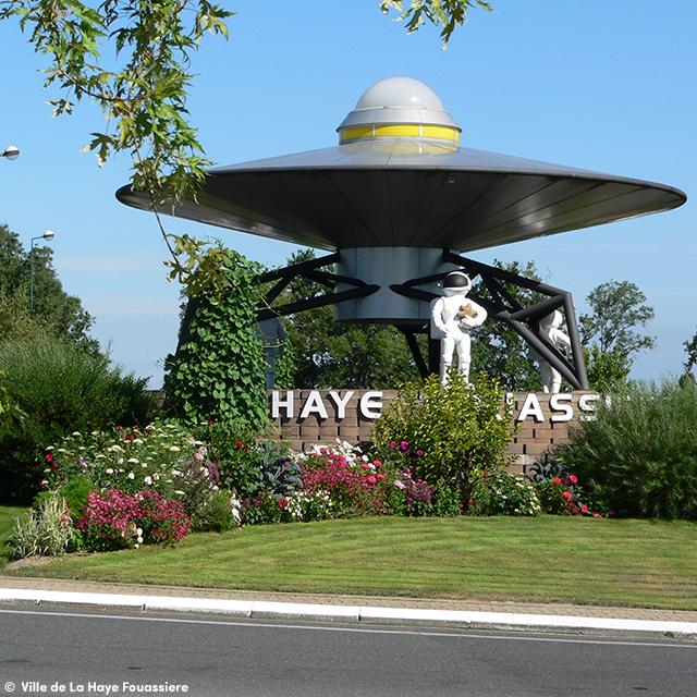 Rond Point de L'Espace à La Haye Fouassière