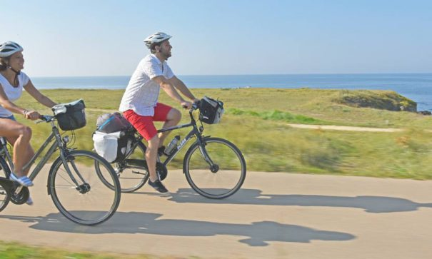 Parcours vélo au Pouliguen sur la Côte Sauvage