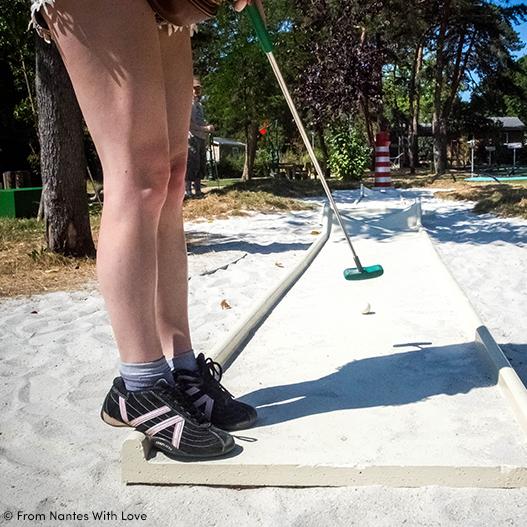 Mini Golf du Camping du Petit Port à Nantes