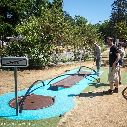 Mini Golf du Petit Port à Nantes