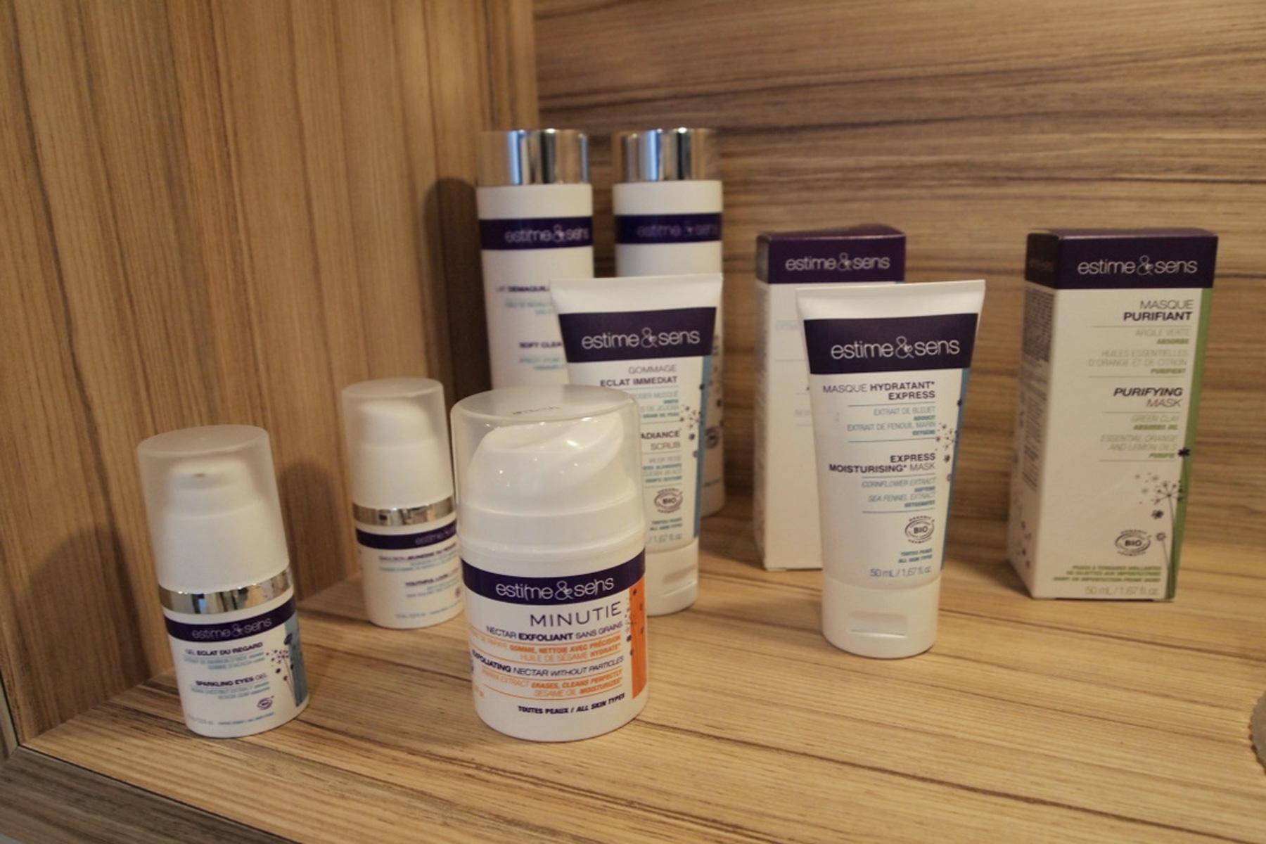 Les produits de beauté du spa Saint-Antoine de Clisson