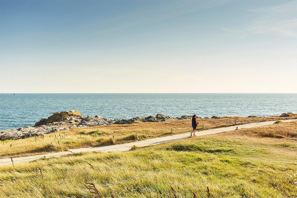 Balade à pied pendant un week-end à La Baule jusq'au Croisic sur la côte atlantique