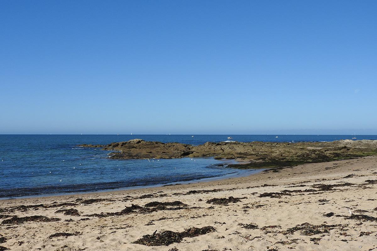 plage du moulin de praillane à Piriac-sur-mer