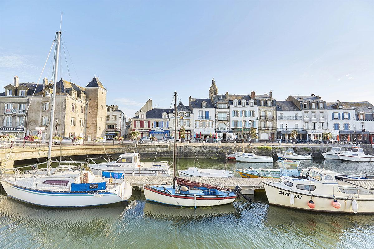 Le port du Croisic en Loire-Atlantique