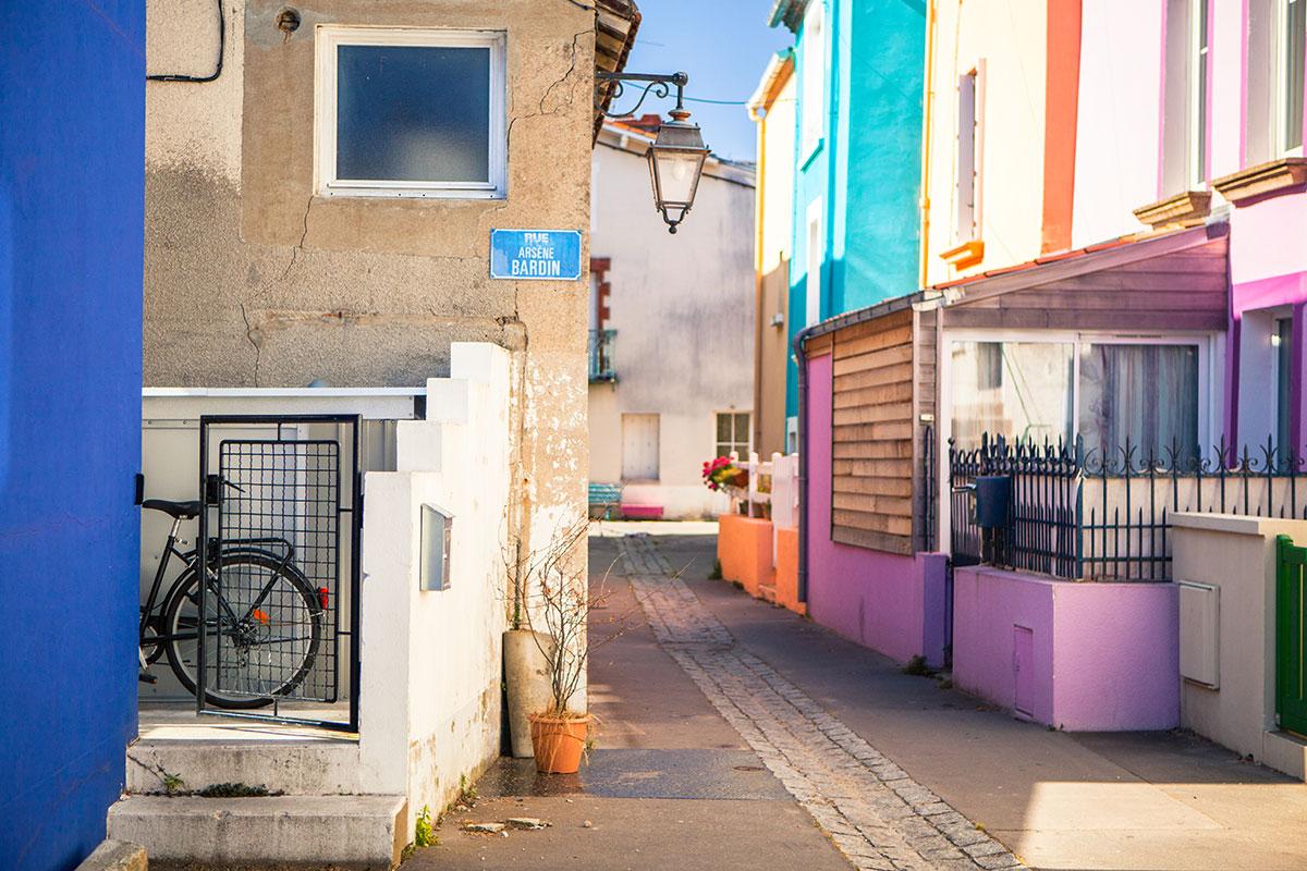 Rues colorées de Trentemoult