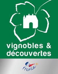 logo label vignoble et découverte France