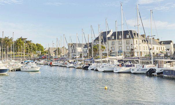 Bateaus sur le port du Croisic