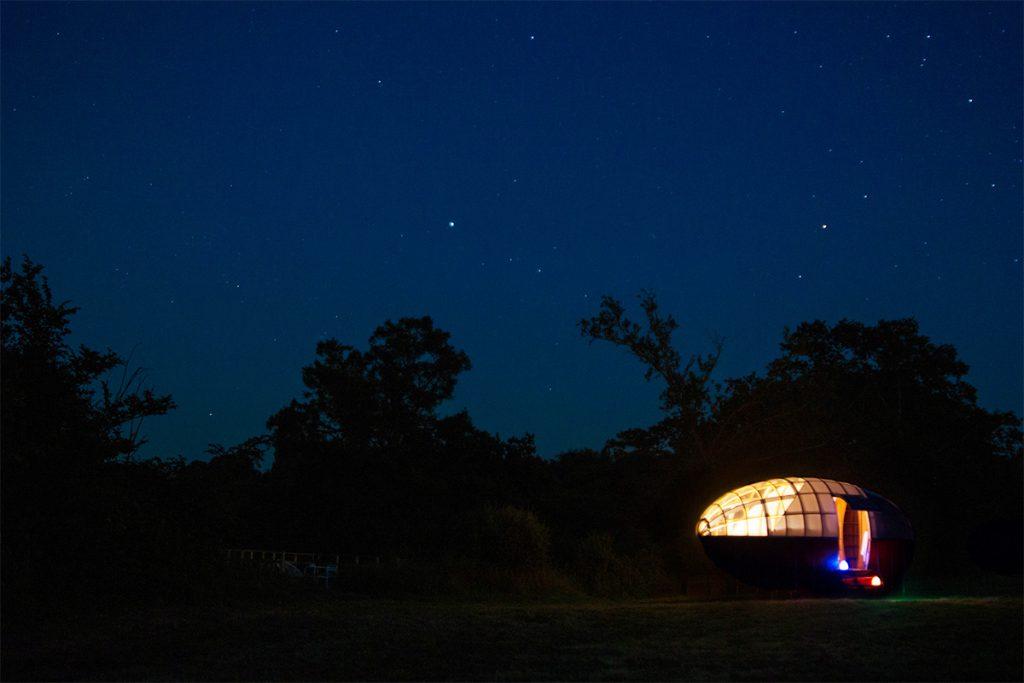 Le caballon pour dormir sous les étoiles