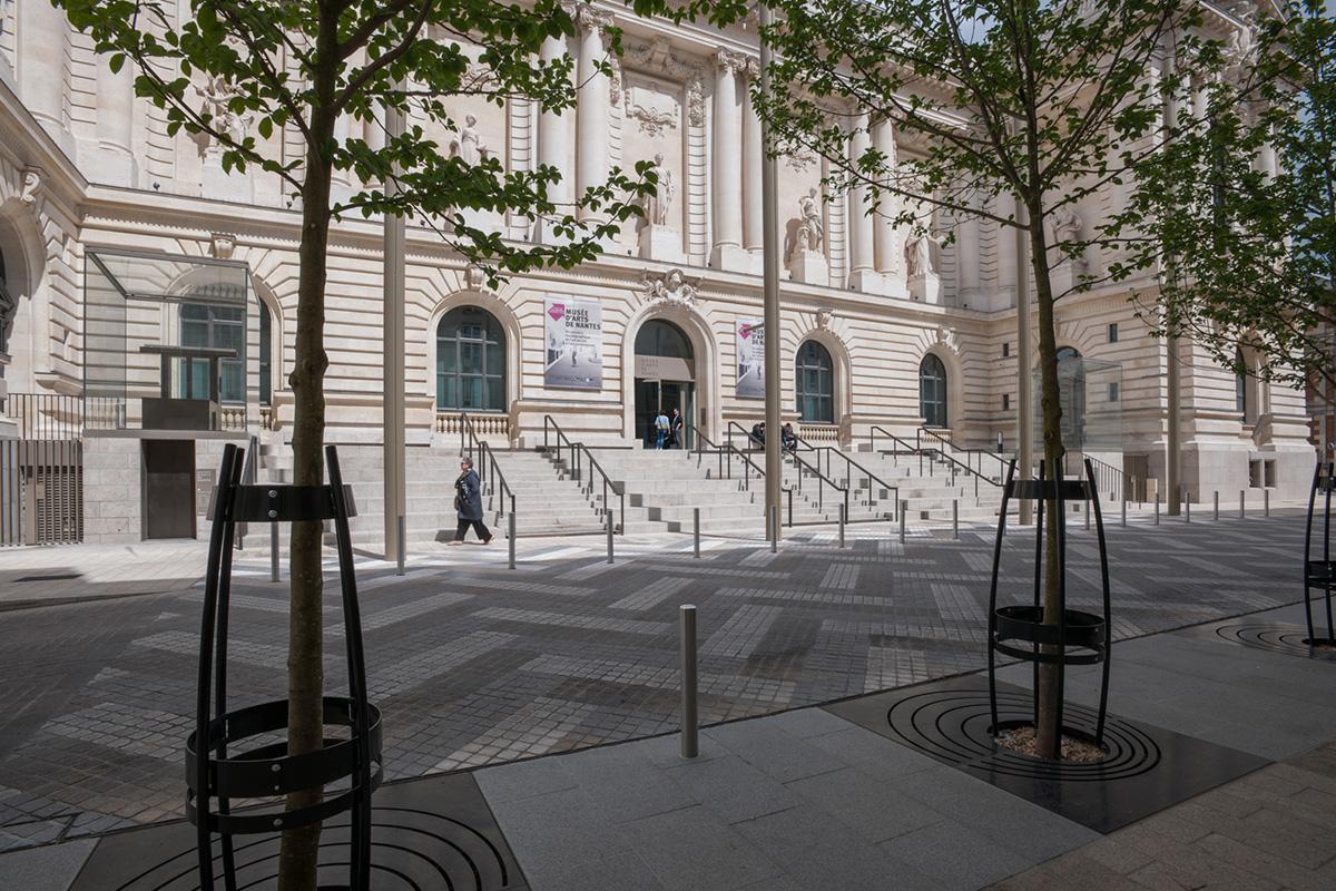 Le bâtiment du Musée Arts de Nantes