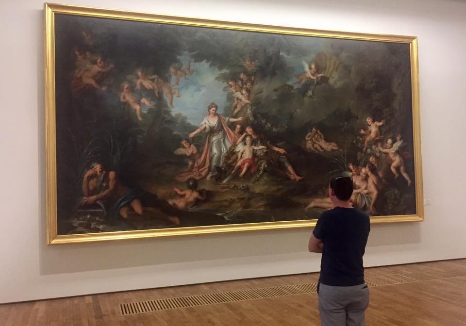 Tableau célèbre musée arts de Nantes