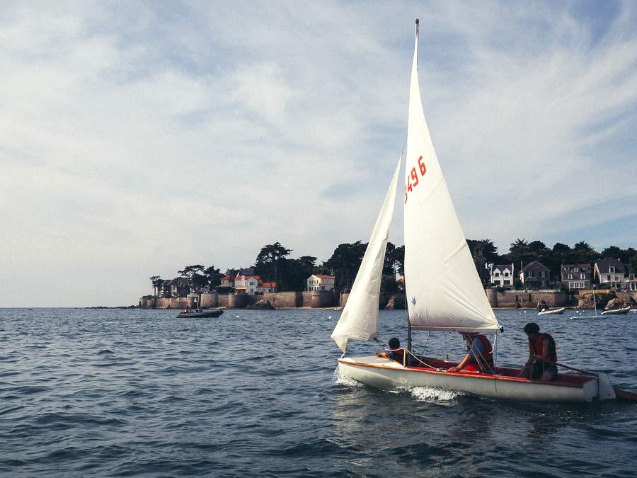La baie de La Baule en bateau