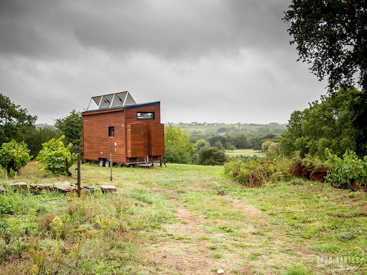 Tiny House dans le vignoble de Loire-Atlantique