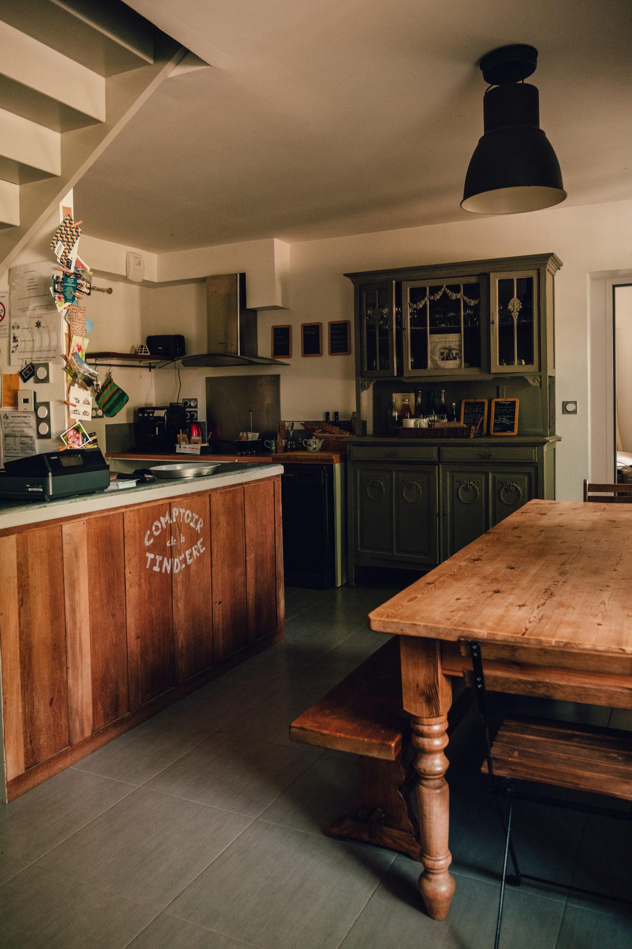 Gîte de la maison éclusière de la Tindière - Cuisine