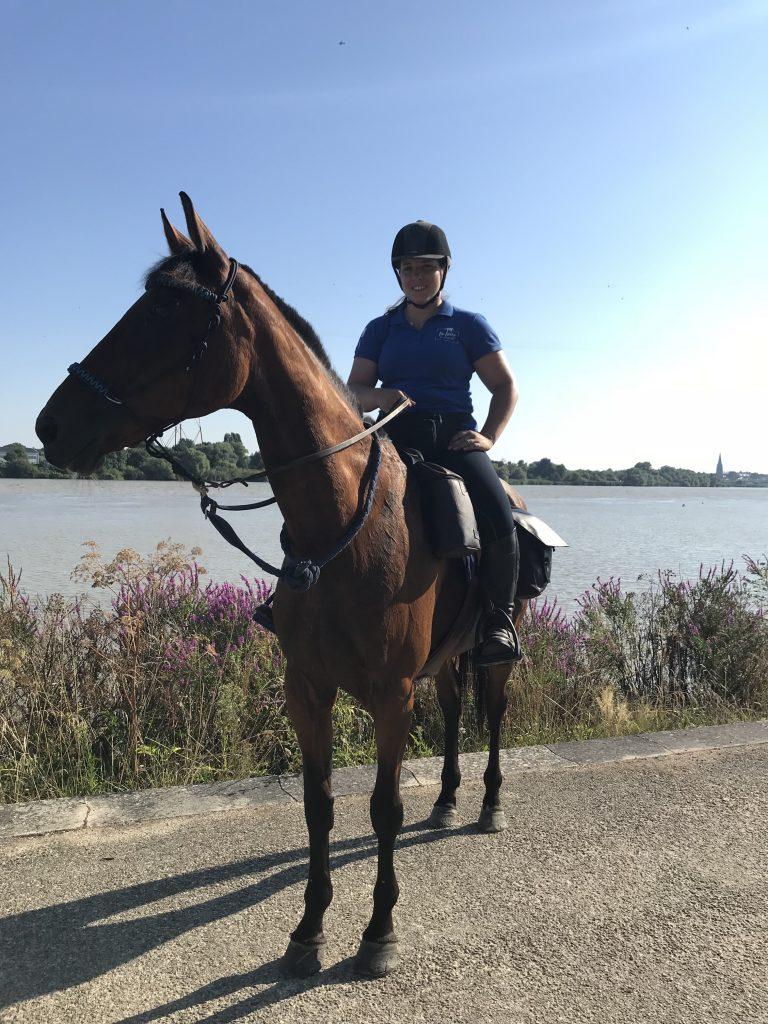 La Loire à cheval et à vélo au Pellerin