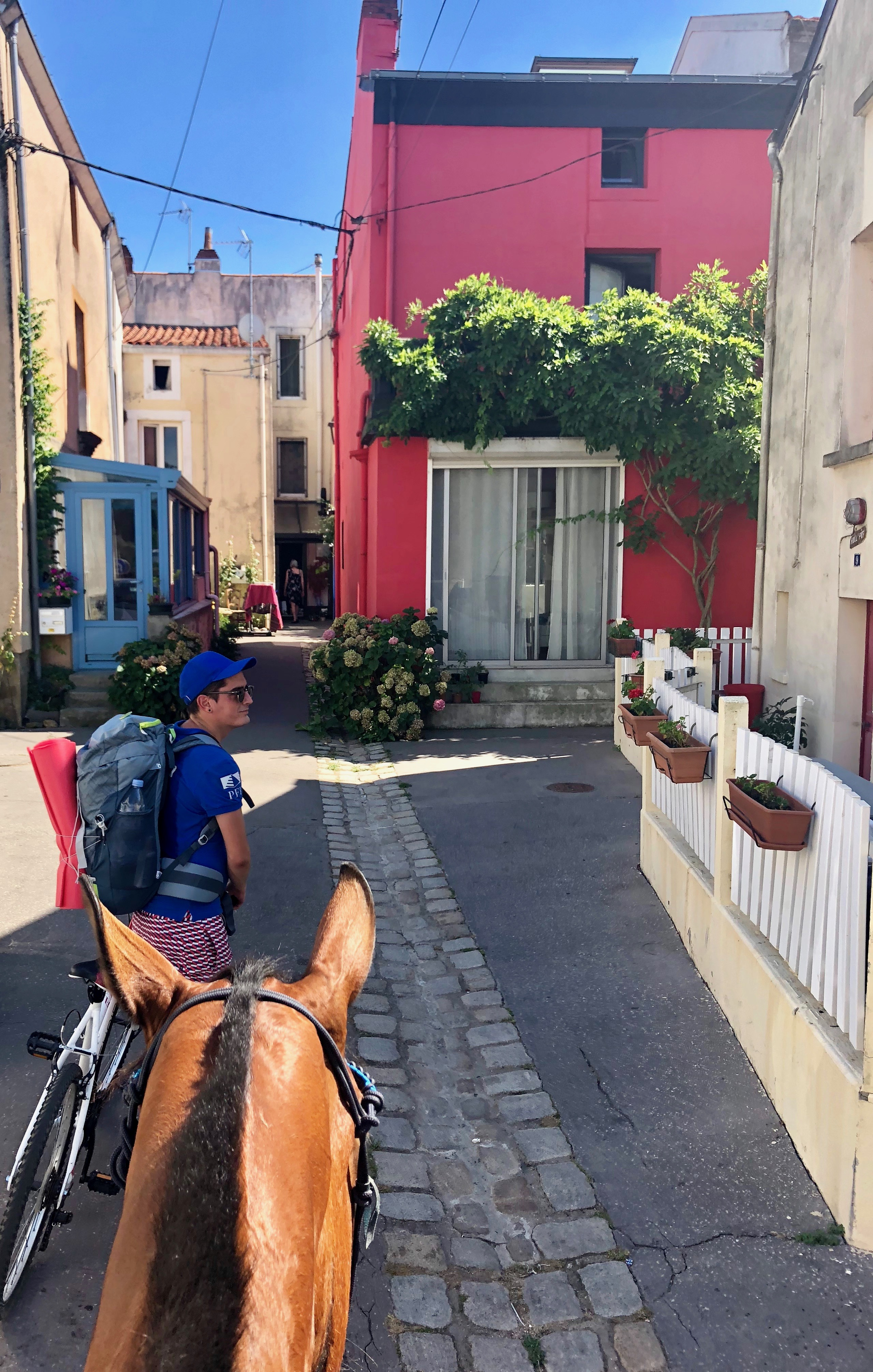 La Loire à vélo et à cheval à Trentemoult