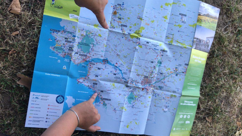 La Loire à cheval et à vélo entre Nantes et Pornic