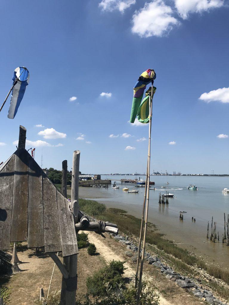 La Loire à cheval et à vélo à Paimboeuf