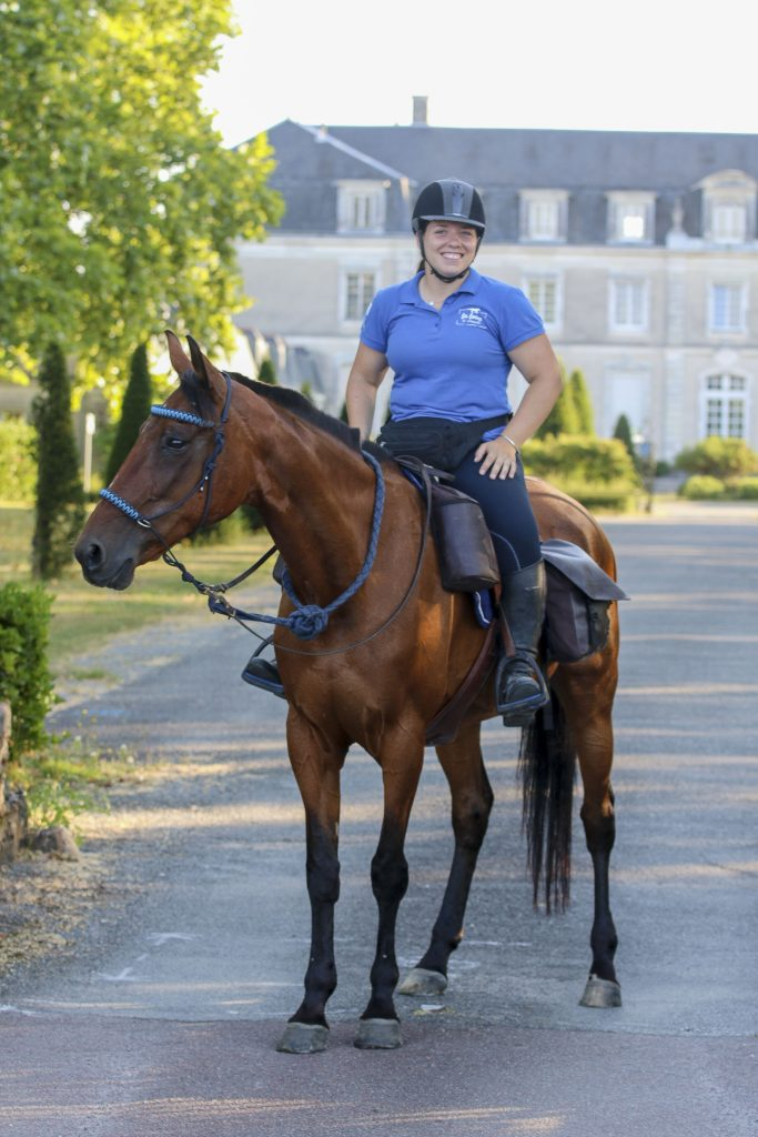 La Loire à cheval et à vélo à la Montagne