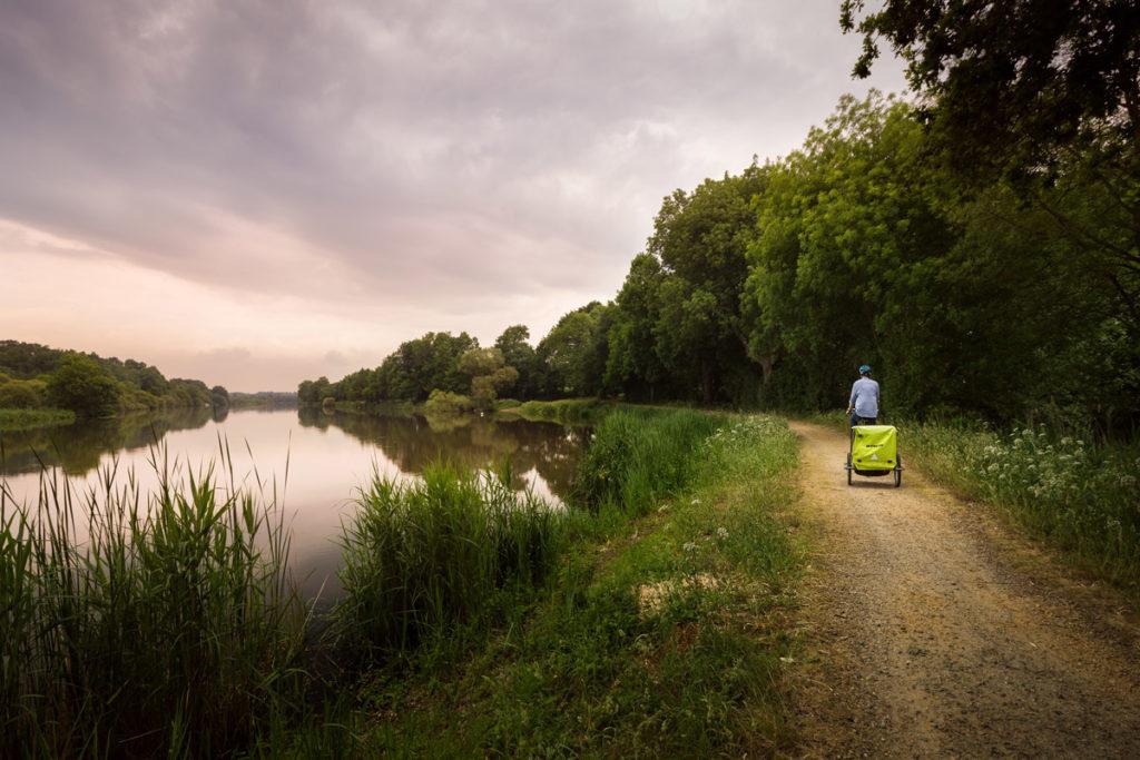 Le Canal de Nantes à Brest à vélo en Loire-Atlantique