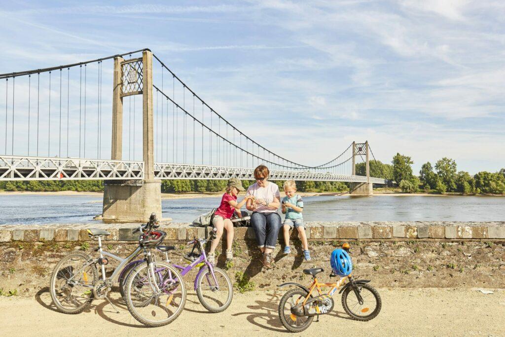 La Loire à vélo à Ancenis © Lamoureux