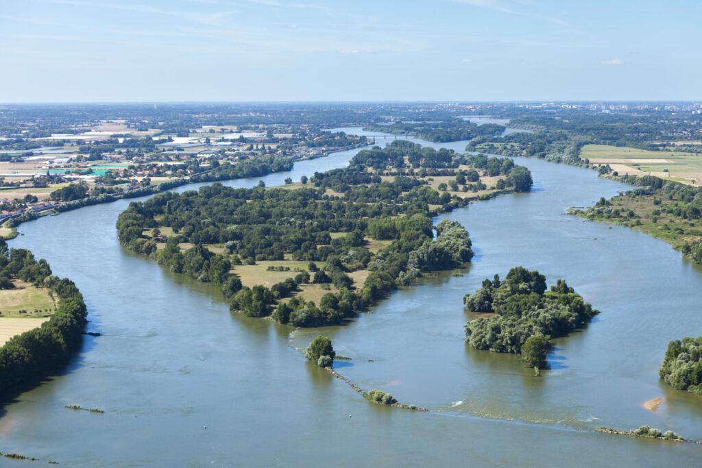 Vue sur la Loire à Mauves-sur-Loire @V. Joncheray