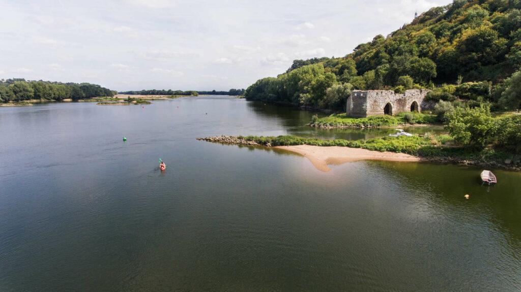 Canoé sur la Loire à Champtoceaux @ J. Jéhanin