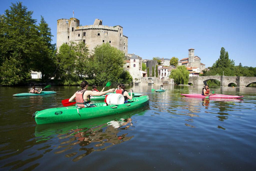 Canoé - kayak à Clisson @ V. Joncheray